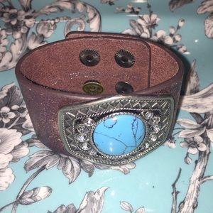Jewelry - Leather cuff bracelet